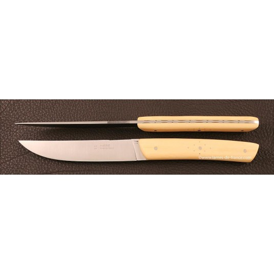 Set of 2 Le Thiers knives Boxwood