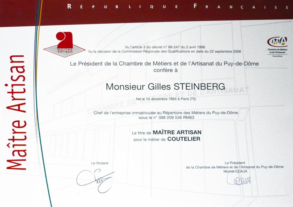 Couteaux Laguiole Entreprise du Patrimoine Vivant