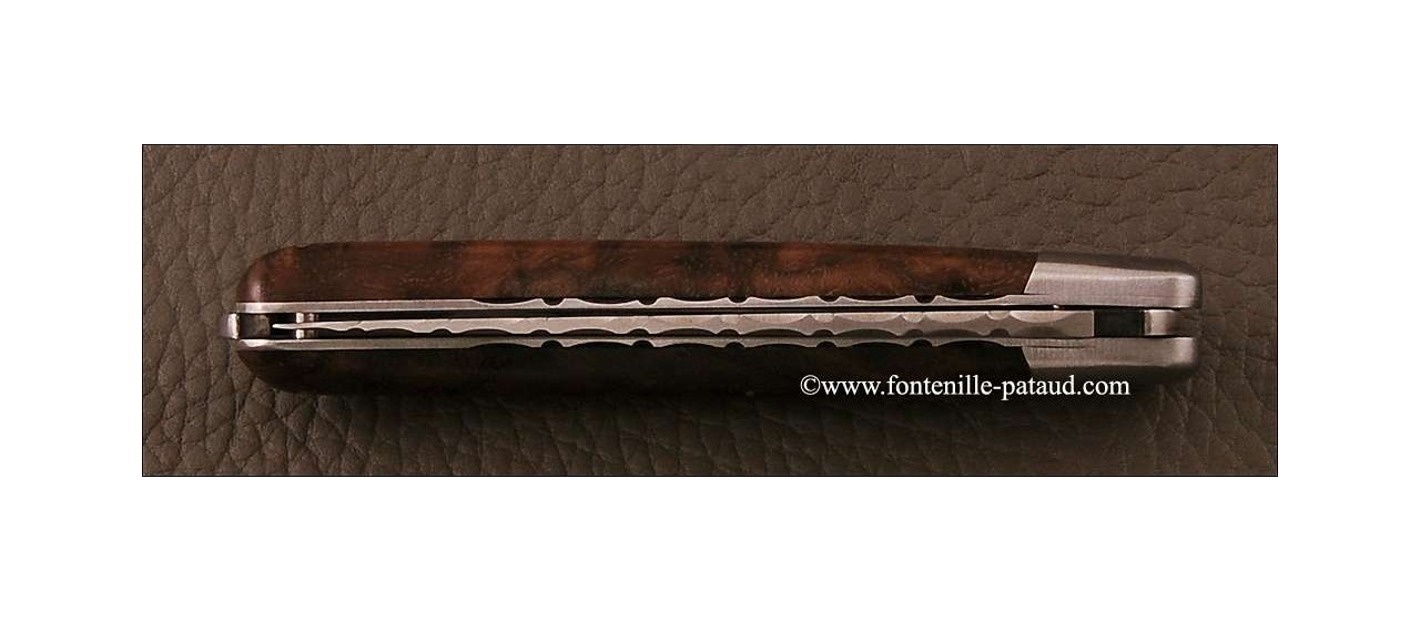 Laguiole Knife XS Guilloche Range Walnut