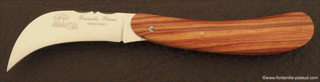 Couteaux à Champignon Bois de Rose