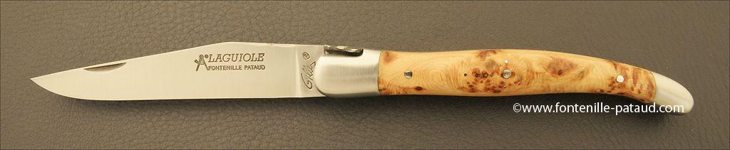 Laguiole en bois de cade odorant des cévennes