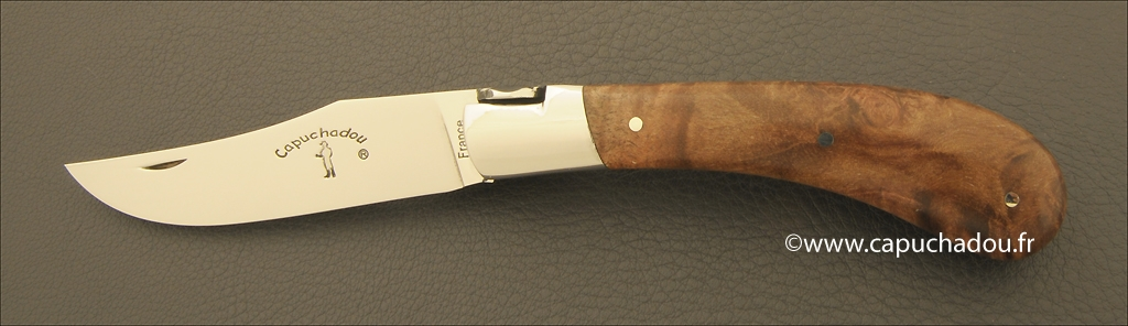 """Le Capuchadou"" 10 cm hand made knife, amourette"