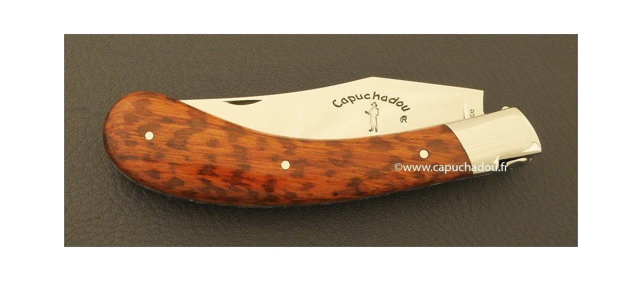 """Le Capuchadou"" 12 cm hand made knife, amourette"