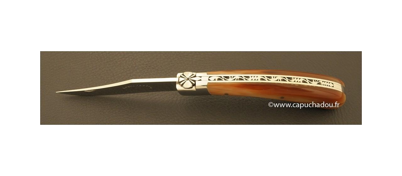 Le Capuchadou 12 cm, Pointe de corne