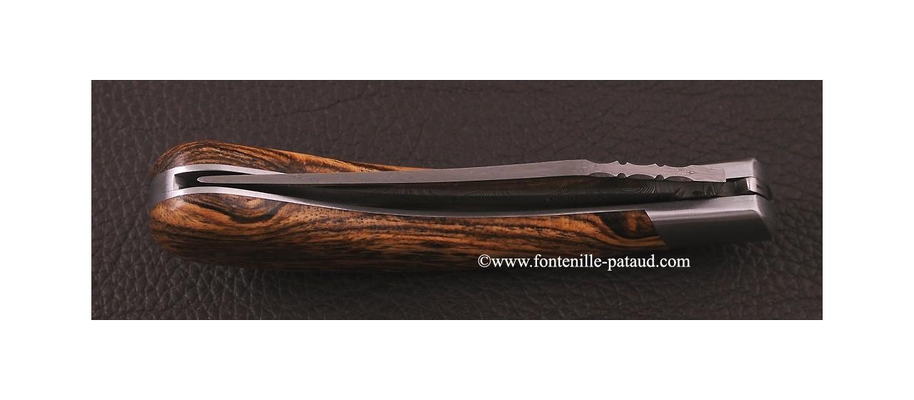 Le Capuchadou 12 cm, Bocote & Damas torsadé