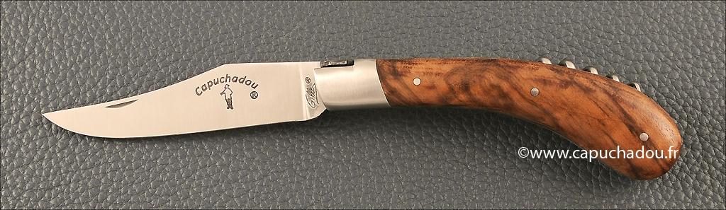 Le Capuchadou 12 cm Tire-bouchon, Noyer