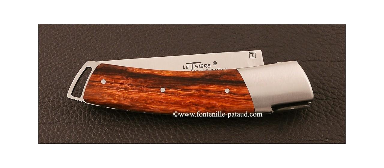Couteau Le Thiers ® Gentleman Bois de fer