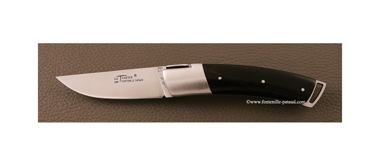 Le Thiers ® Gentleman knife ebony