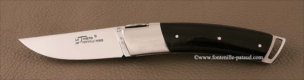Le Thiers ® Gentleman knife Buffalo horn