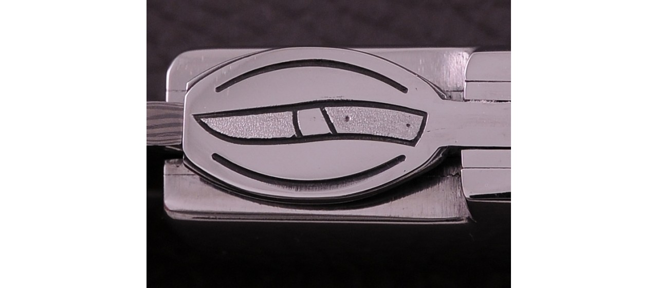 Le Thiers ® Gentleman knife Damascus Juniper