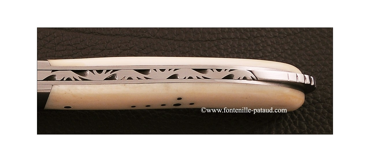 Laguiole Sport knife real bone handle