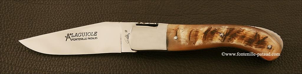 Couteau Laguiole Sport en corne de bélier