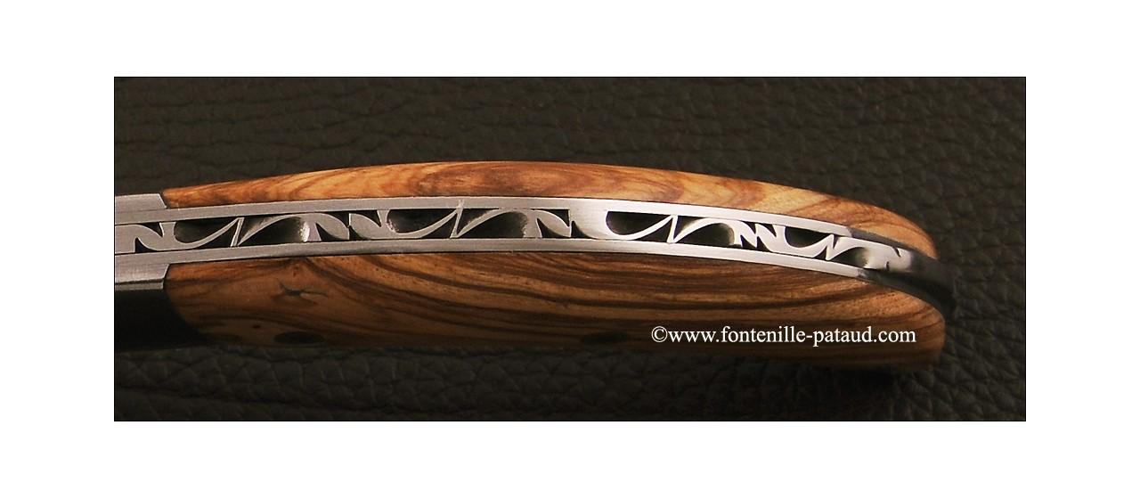 Corsican Rondinara knife classic range olivewood