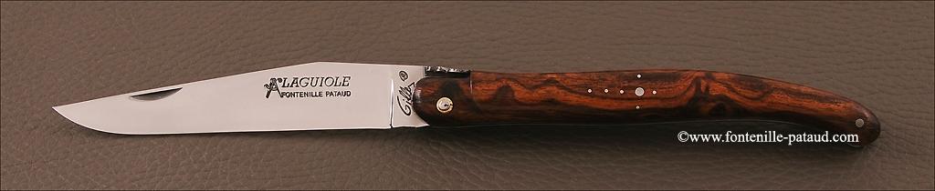 Véritable laguiole en bois de fer d'Arizona