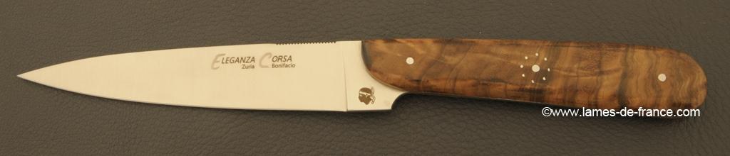 Set of 6 Eleganza Corsa knives Walnut