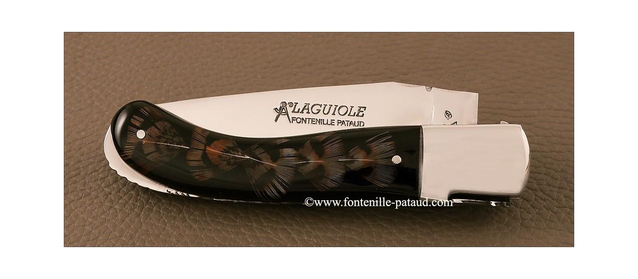 Couteau Laguiole sport plume