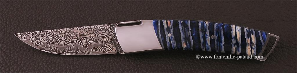 Couteau Le Thiers ® Gentleman Damas Molaire de Mammouth