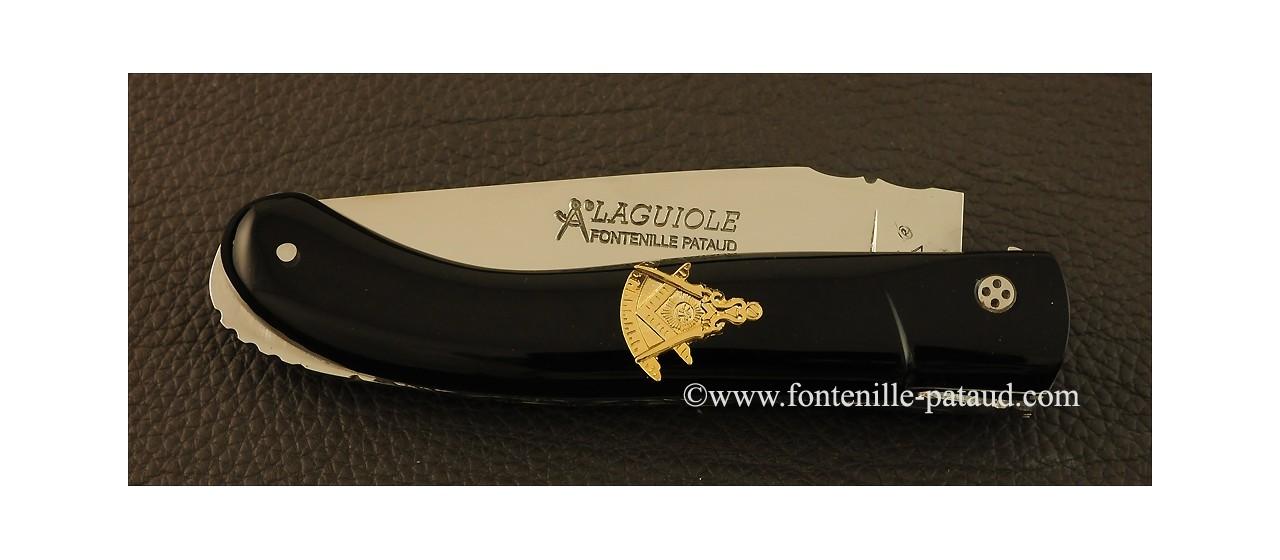 Couteau Laguiole sport franc-maçon