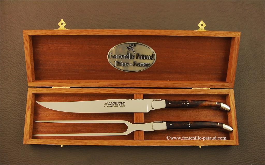 Laguiole Carving Set Ironwood