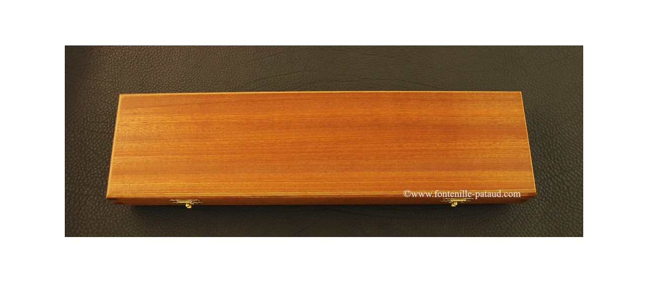 Laguiole Carving Set Olivewood