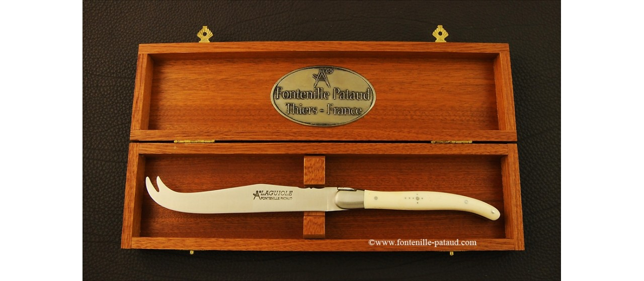 Laguiole Cheese Knife Real cow bone