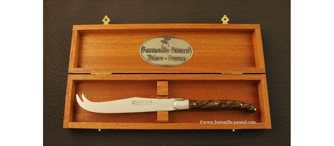 Laguiole Cheese Knife Walnut