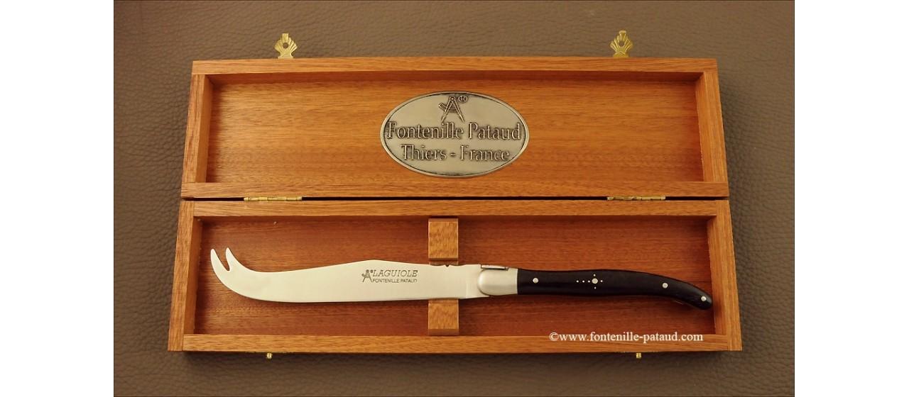 Laguiole Cheese Knife Real ebony
