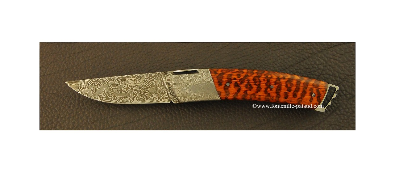 Couteau Le Thiers ® Gentleman Damas Amourette
