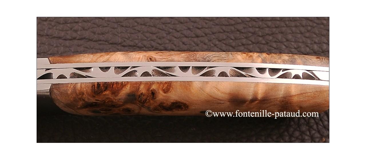 Le Thiers ® Gentleman knife Poplar burl