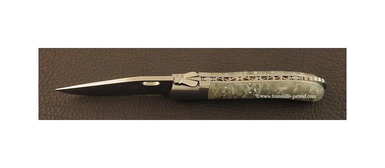 Laguiole Knife Gentleman Single Hand Opening Range Phosphorescent