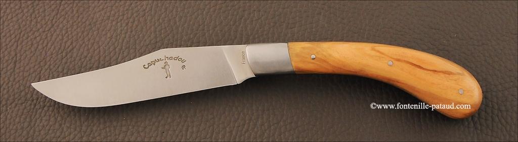Set of 2 Le Capuchadou ® knives real Olivewood