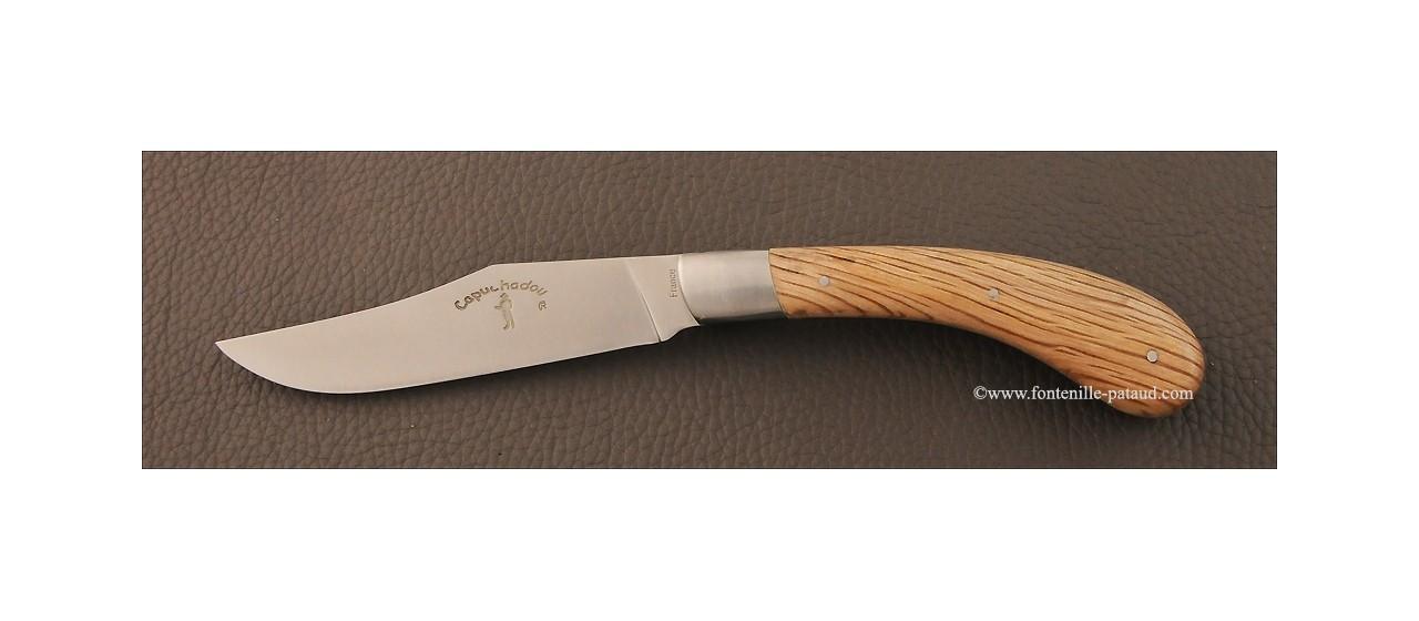 Set of 6 Le Capuchadou ® knives Green oak