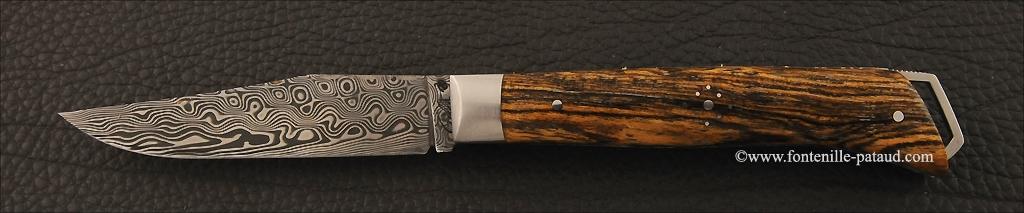 Alpin knife bocote