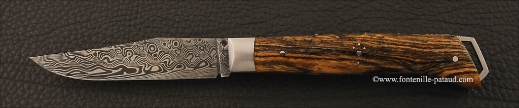 Couteau Alpin Bocote