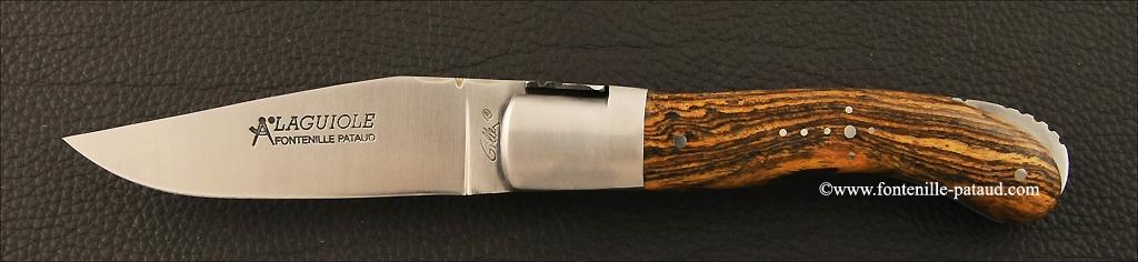 Couteau Laguiole Sport en bocote du Mexique