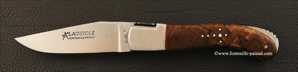 Couteau Laguiole Sport en hêtre stabilisée