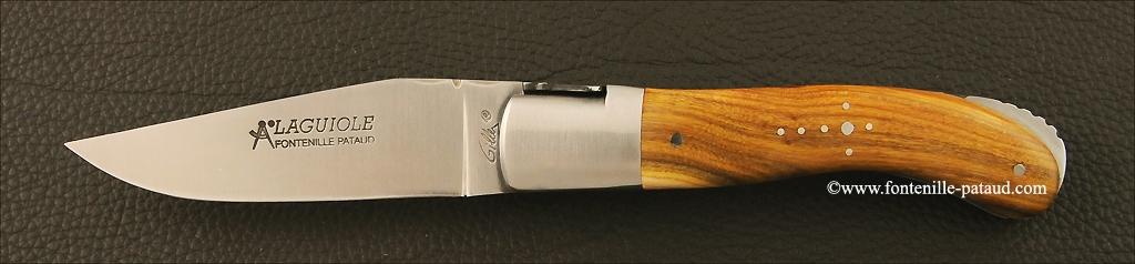 Laguiole Sport knife pistaccio wood