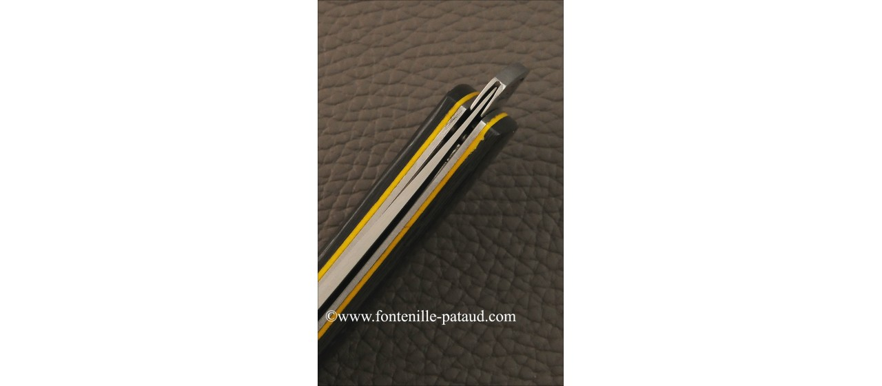 Le Thiers ® Gentleman knife carbon fiber