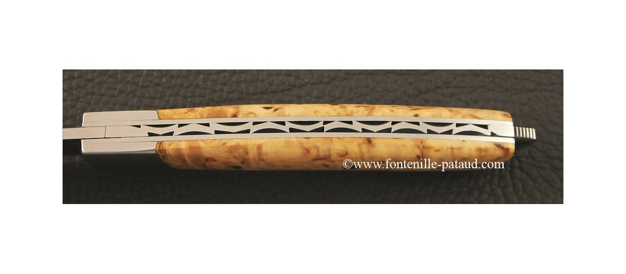 Le Thiers® Nature curly birch knife