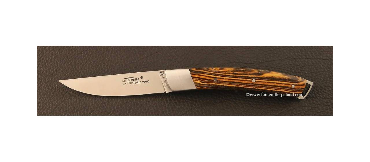 Couteau Le Thiers® Nature Bocote