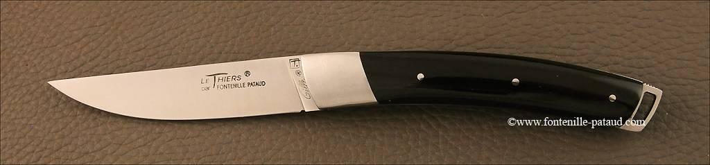 Couteau Le Thiers® Nature Pointe de corne noire