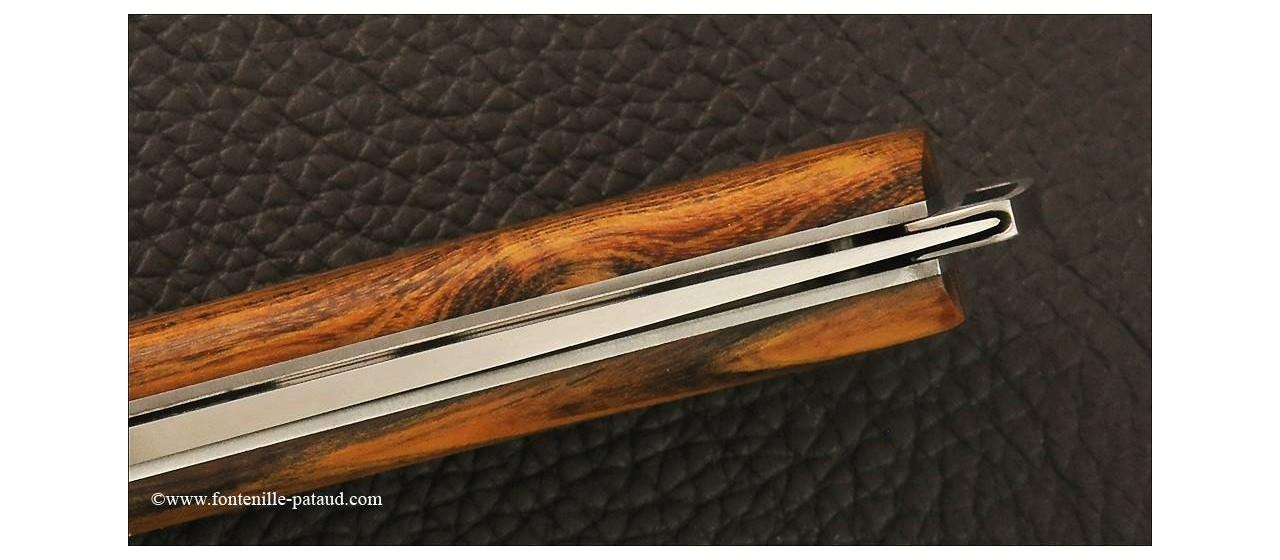 Le Thiers® Nature Pistachio wood knife