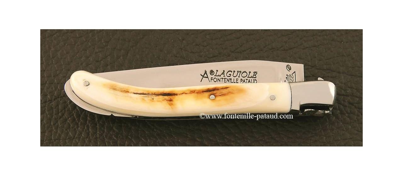Couteau Laguiole XS en ivoire de phacochère