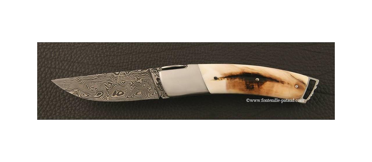 Couteau Le Thiers ® Gentleman Damas Phacochère