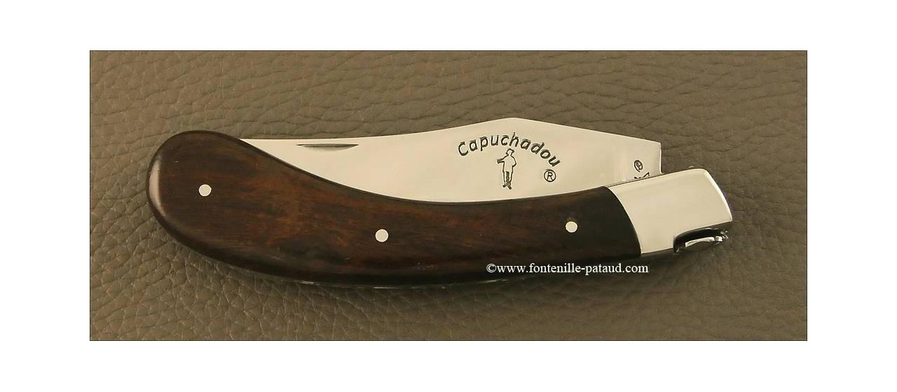 """""""Le Capuchadou"""" 12 cm hand made knife, Arizona Ironwood"""