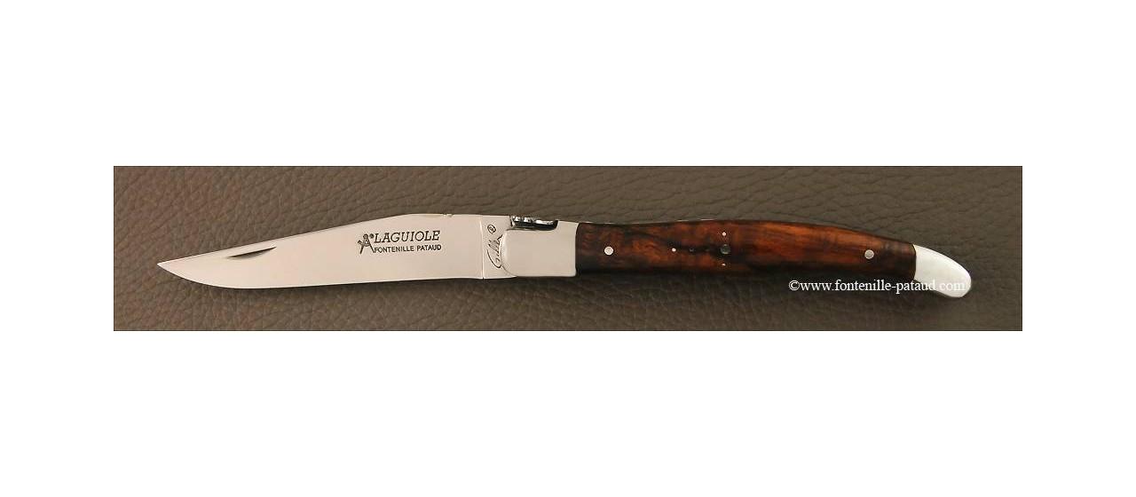 Couteau Laguiole Traditionnel 12 cm Classique Bois de fer
