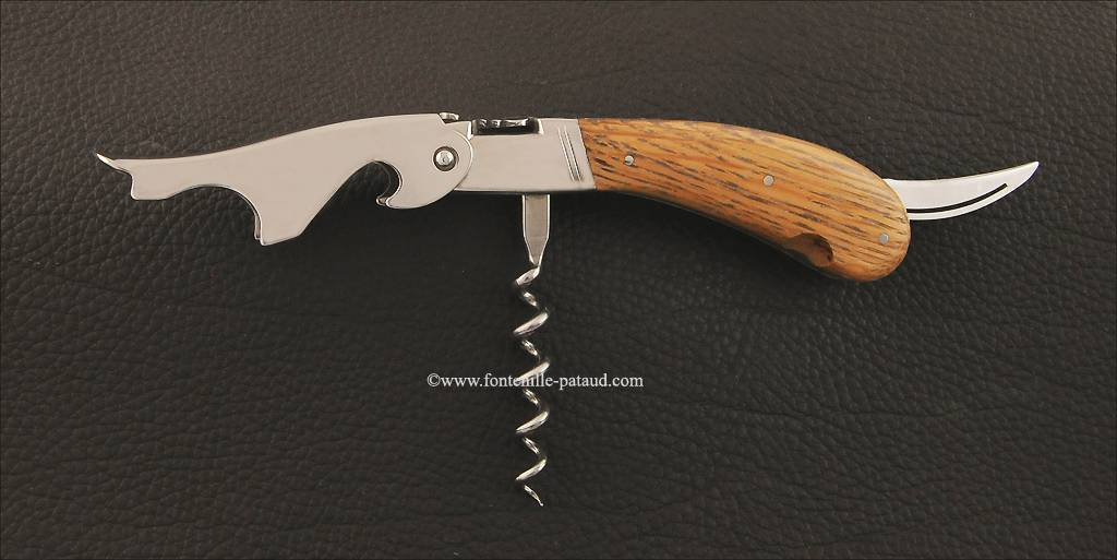 Laguiole Magnum corkscrew Oak