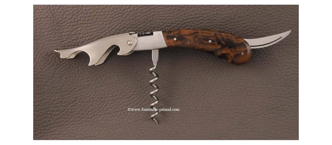 Laguiole Magnum corkscrew walnut