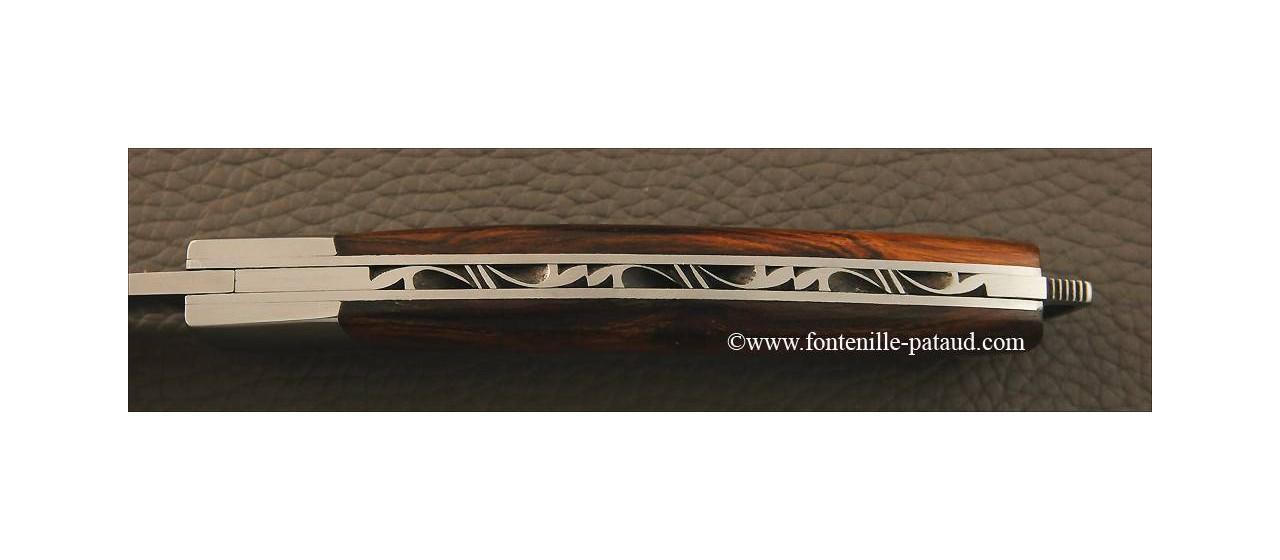 Couteau Le Thiers® Nature bois de fer