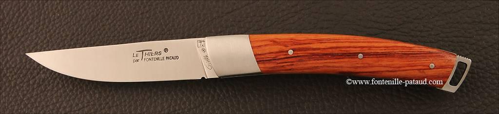 Couteau Le Thiers® Nature Bois de rose